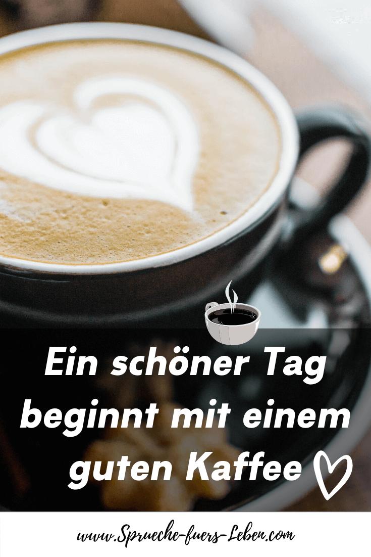 Ein schöner Tag beginnt mit einem guten Kaffee