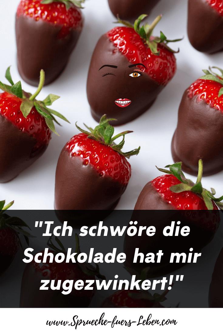 """""""Ich schwöre die Schokolade hat mir zugezwinkert!"""""""