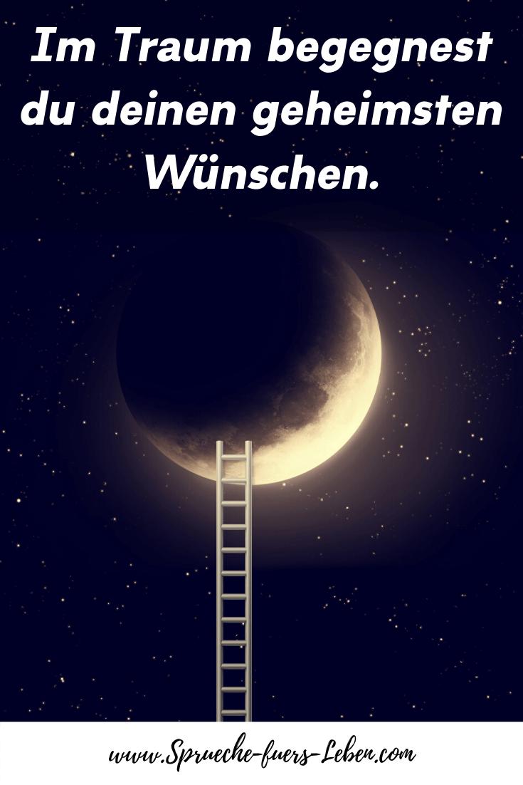 Im Traum begegnest du deinen geheimsten Wünschen.