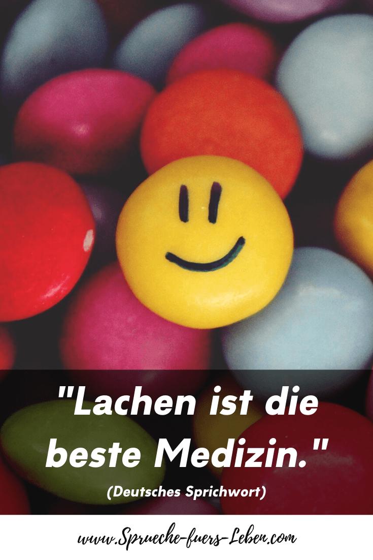 """""""Lachen ist die beste Medizin."""" (Deutsches Sprichwort)"""