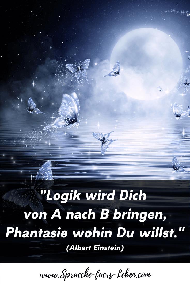"""""""Logik wird Dich von A nach B bringen, Phantasie wohin Du willst."""" (Albert Einstein)"""