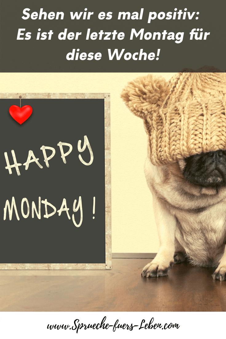 Sehen wir es mal positiv: Es ist der letzte Montag für diese Woche!
