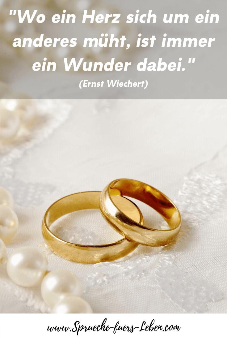 """""""Wo ein Herz sich um ein anderes müht, ist immer ein Wunder dabei."""" (Ernst Wiechert)"""